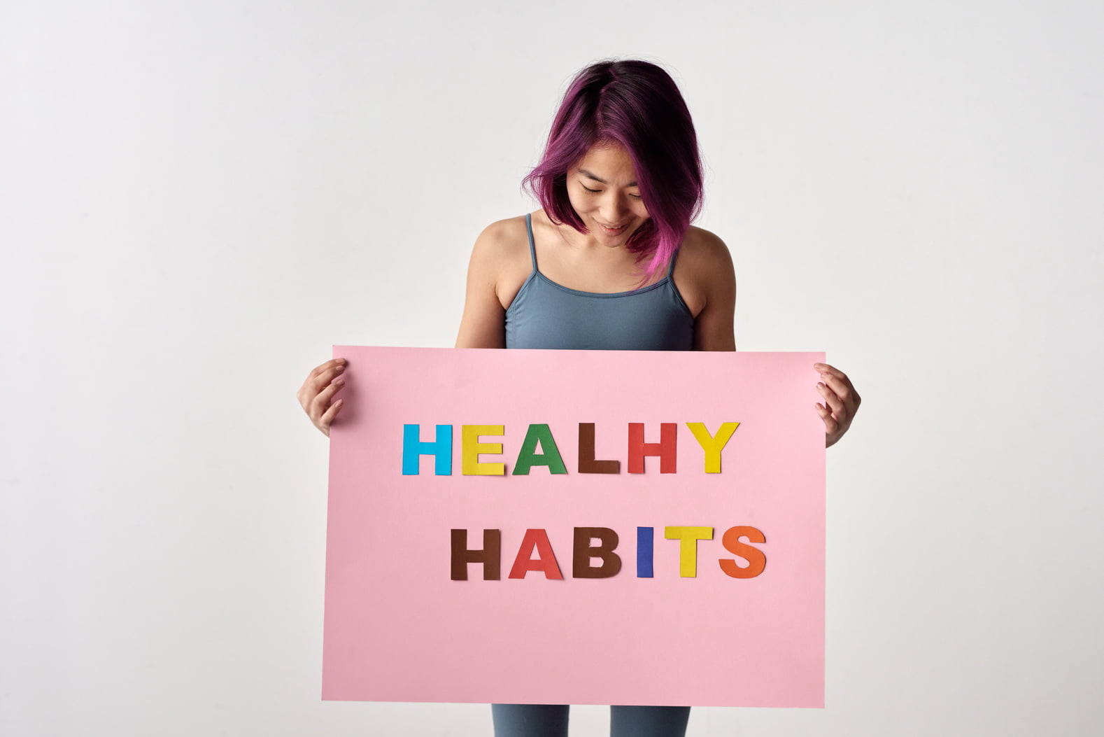 Healthy Habits: How to Get on the Right Track